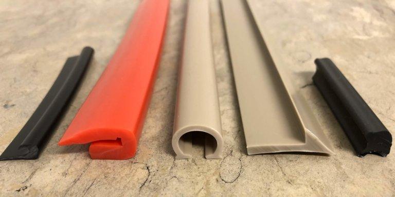 Verschiedene Profile PVC – weich, TPE, oder PP wie zum Beispiel: Kantenschutz, Einschlagkeder, Dichtprofile, Klemmprofile, U-Profile uvm.