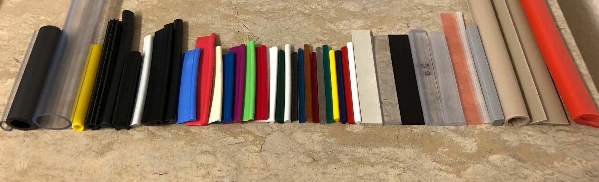 Kunststoff Profile Keder Schlauch uvm. in verschiedenen Farben