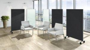 Keder für Büromöbel und Schallschutz