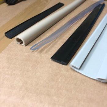 Verschiedene PVC Profile