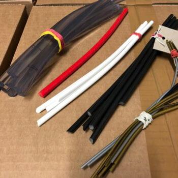 verschiedene Rundschnüre aus PVC weich von 1mm bis 12mm